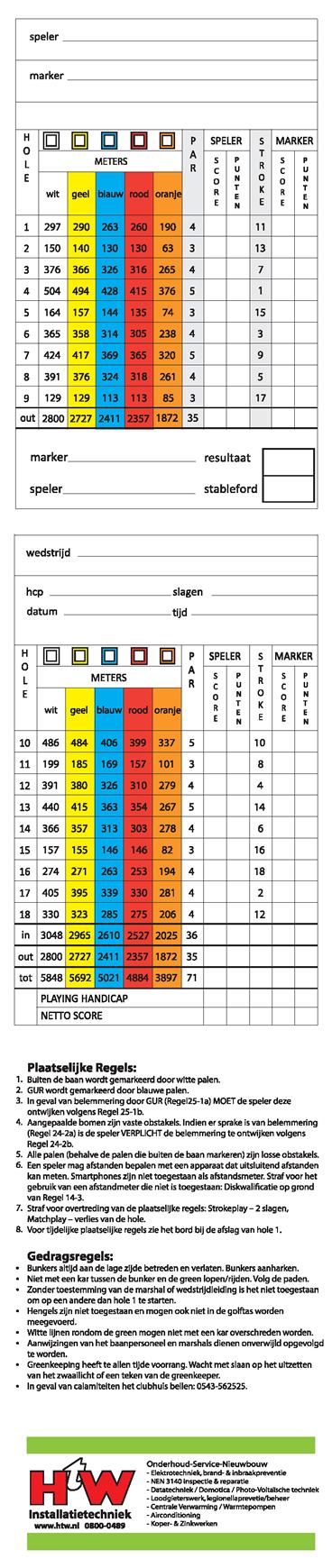 scorekaart-18-holes